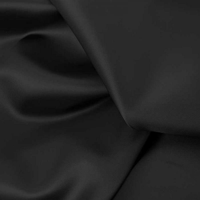Tissu doublure viscose haute couture - bleu foncé x 10 cm