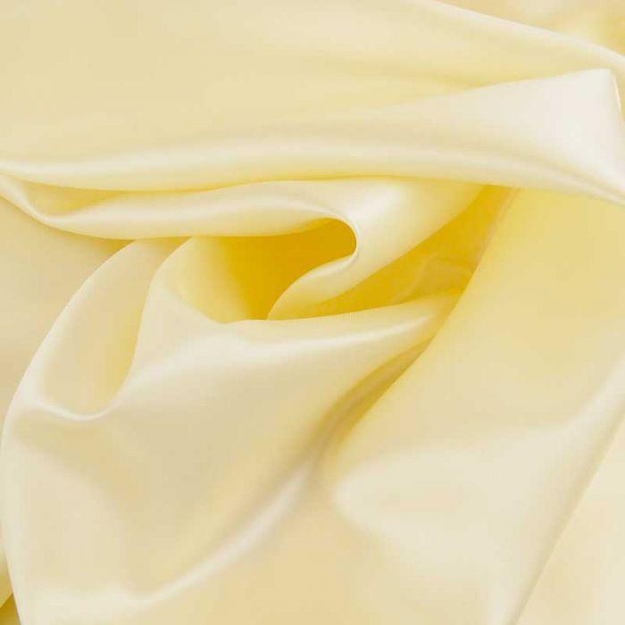 Tissu doublure viscose haute couture - crème x 10 cm