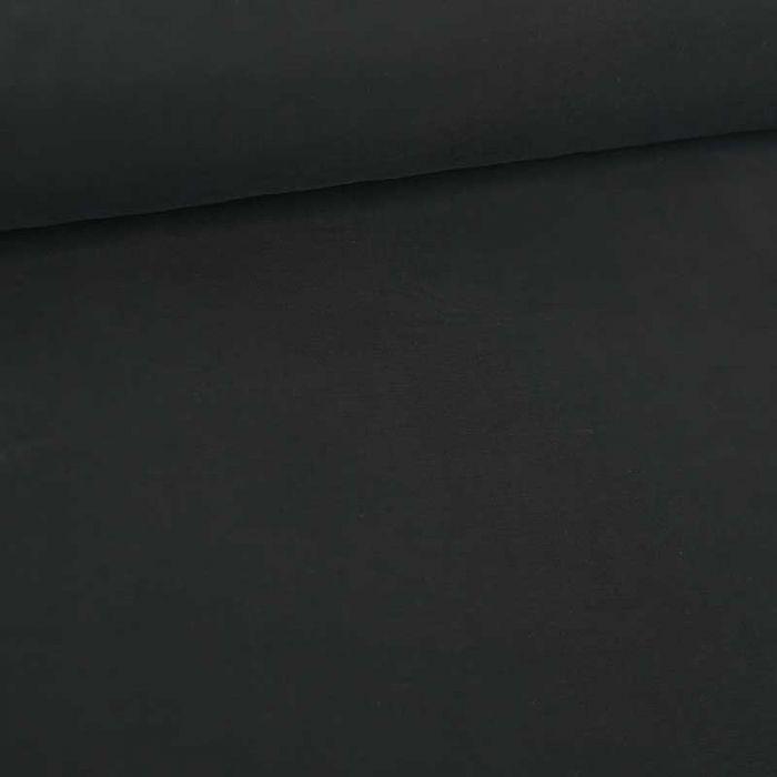 Tissu cupro viscose haute couture - noir x 10 cm