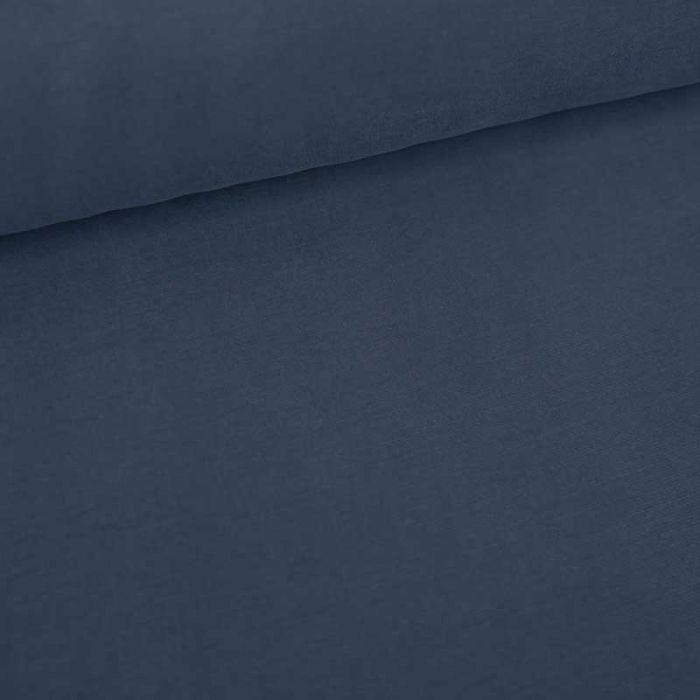 Tissu cupro viscose haute couture - bleu x 10 cm