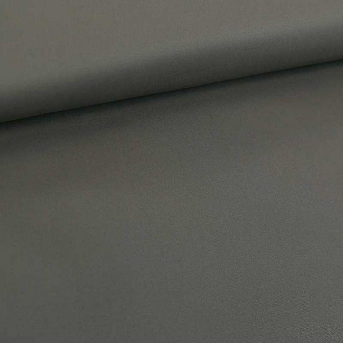 Tissu coton chino stretch - gris x 10cm
