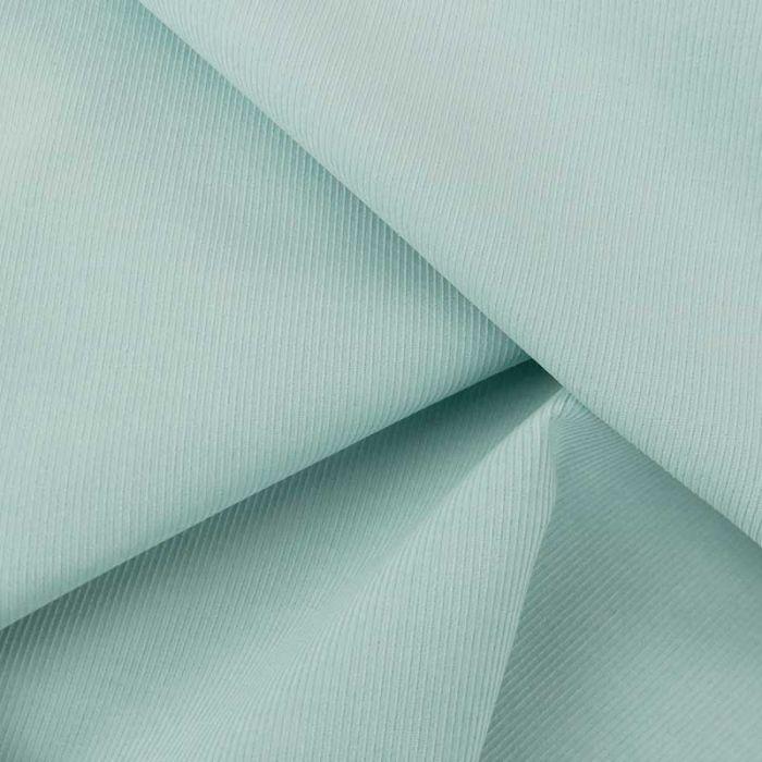 Tissu velours milleraies fin haute couture - bleu tendre x 10 cm