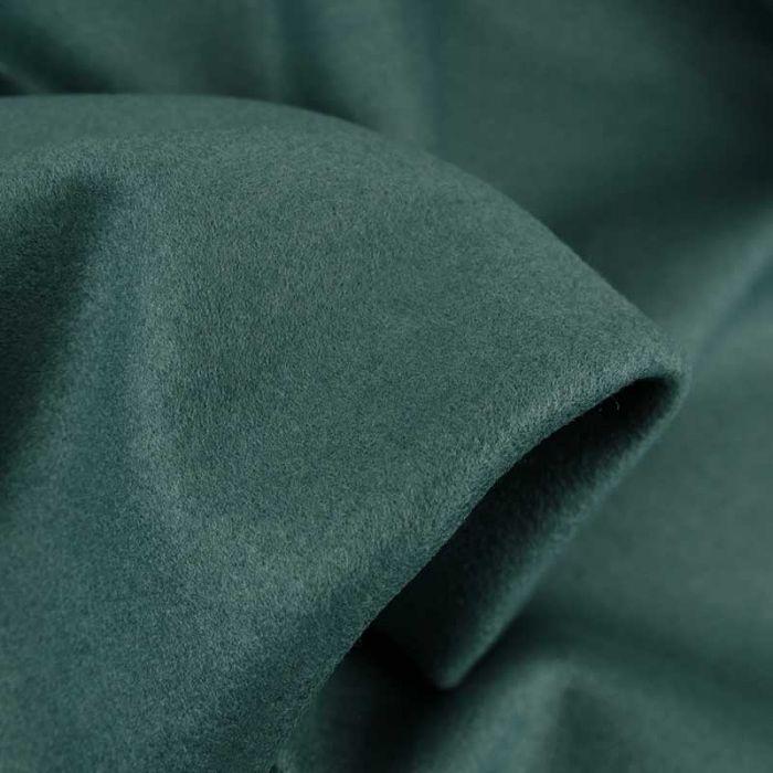 Tissu lainage uni - vert eucalyptus x 10 cm