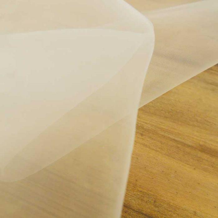 Tissu voile transparent biodégradable contact alimentaire x 10 cm