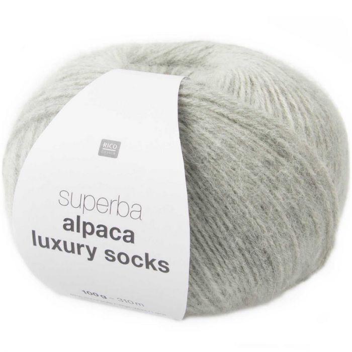 Superba alpaca luxury socks - Rico Design