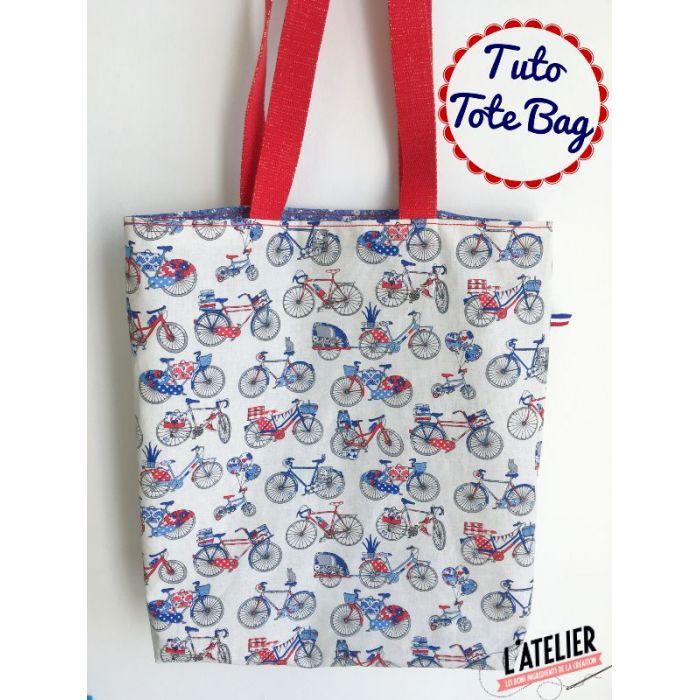 Kit - Tote Bag réversible