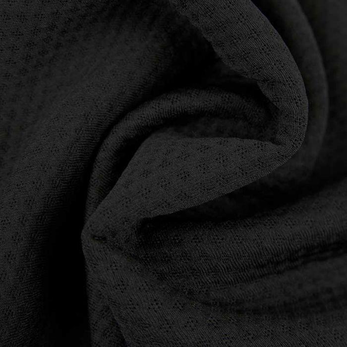 Tissu super absorbant léger ZORB 3D stay dry - noir
