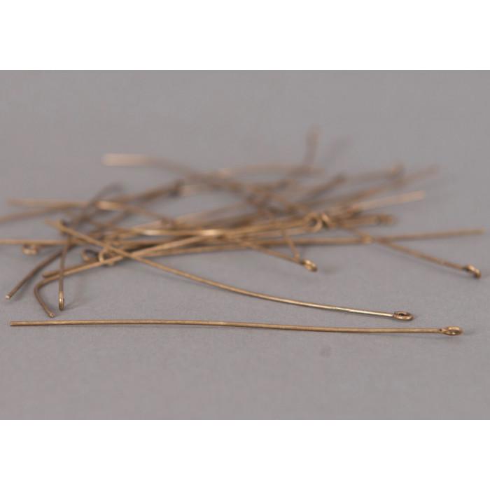 Tiges avec oeillets 81mm bronze