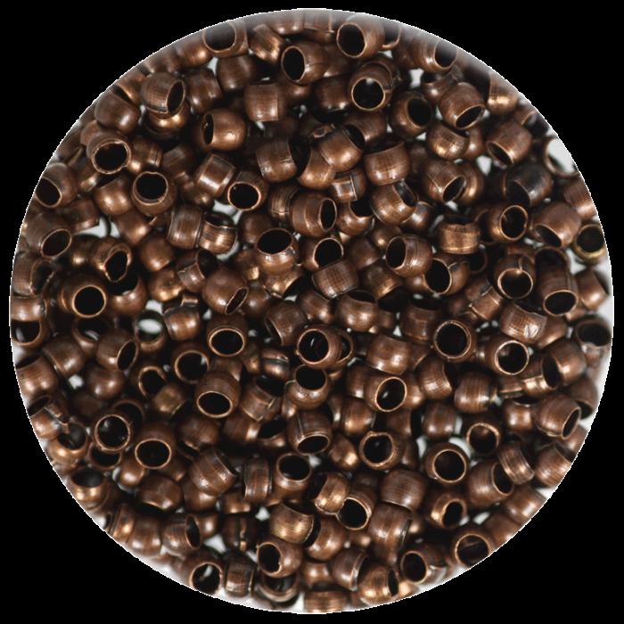 Perle à écraser Cuivre 2 mm X100 pcs environ