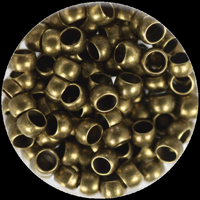 Perle à écraser Bronze 4 mm X50