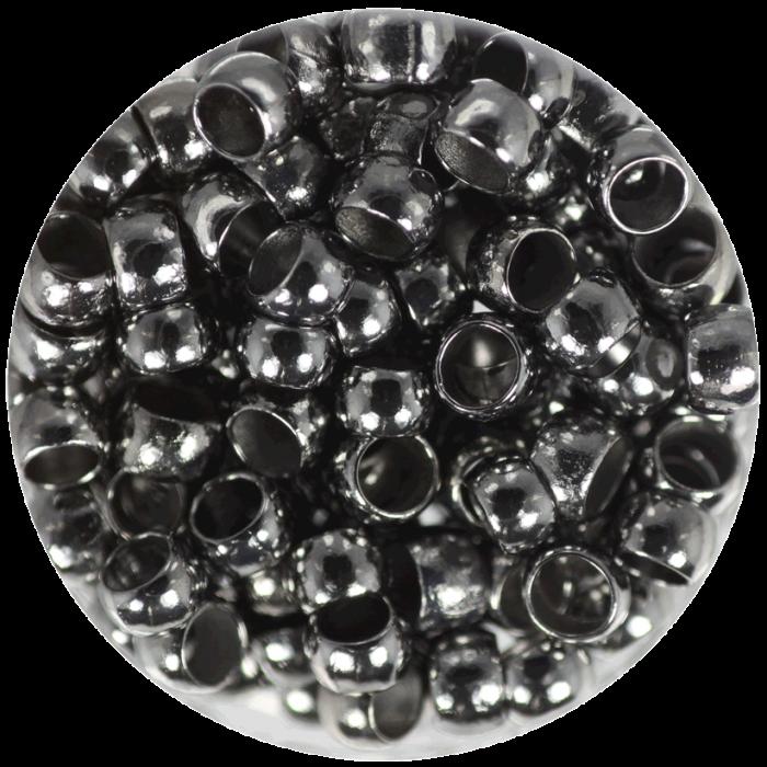 Perle à écraser Noir 4 mm X50