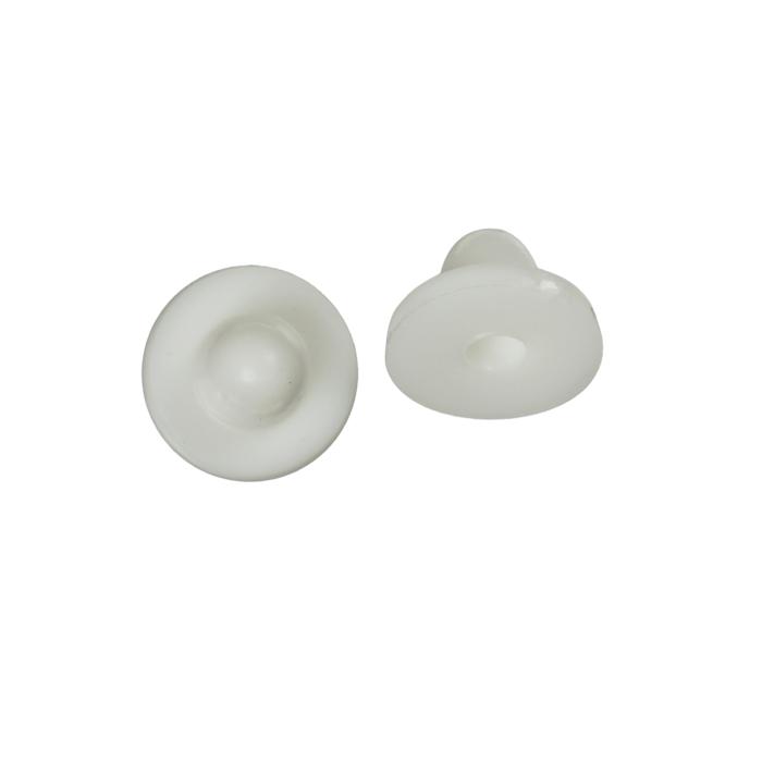 Protège Boucle d'oreille blanc 8.5 mm x10