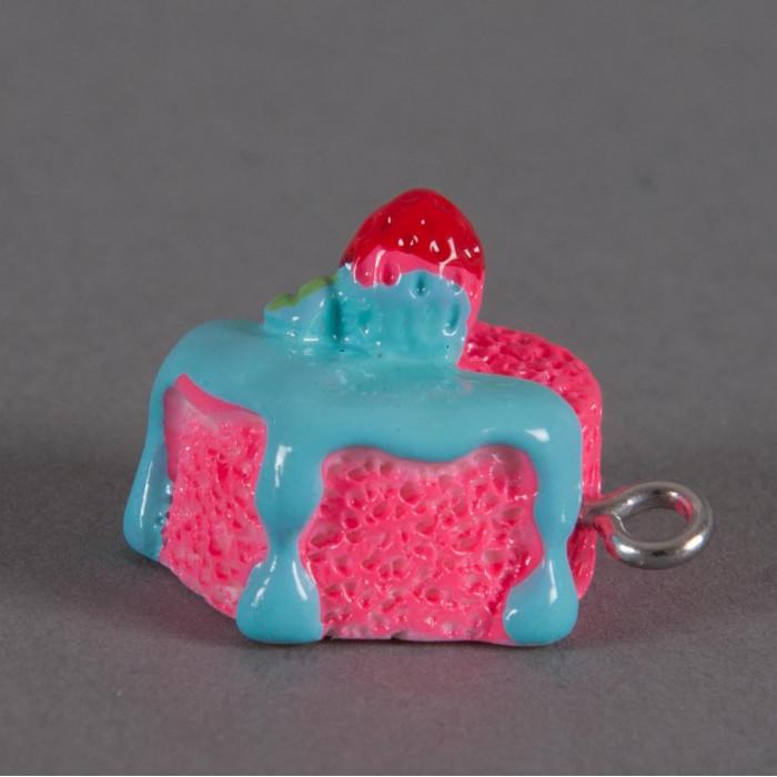 Breloque petit gateau glacé x1