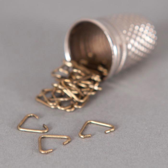 Bélière simple 6mm bronze x10