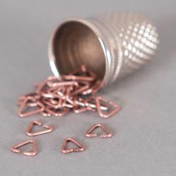 Bélière simple 4mm cuivre x10