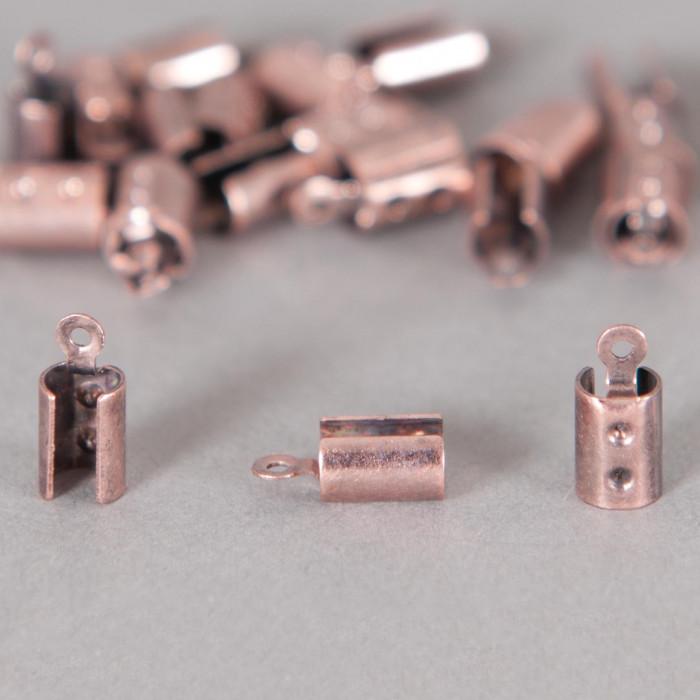Embouts de serrage cordon cuivre 5mm x10