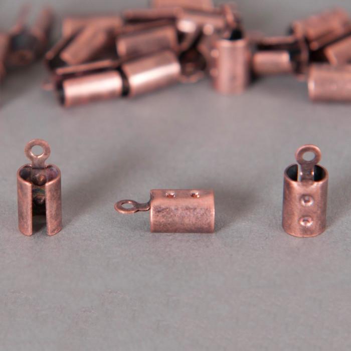 Embouts de serrage cordon cuivre 4mm x10