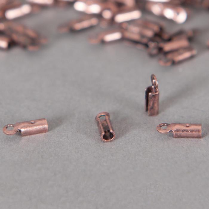 Embouts de serrage cordon cuivre 2mm x10