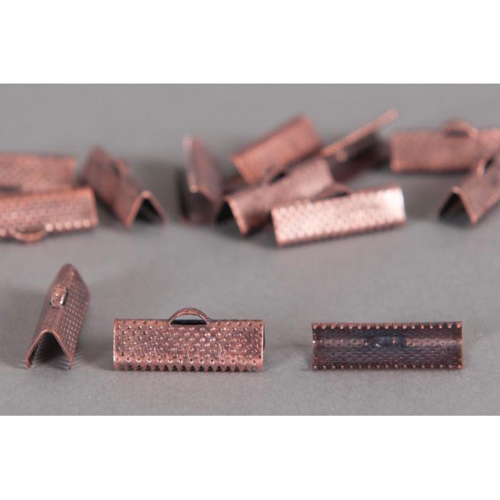Embouts de serrage ruban cuivre 20mm x6