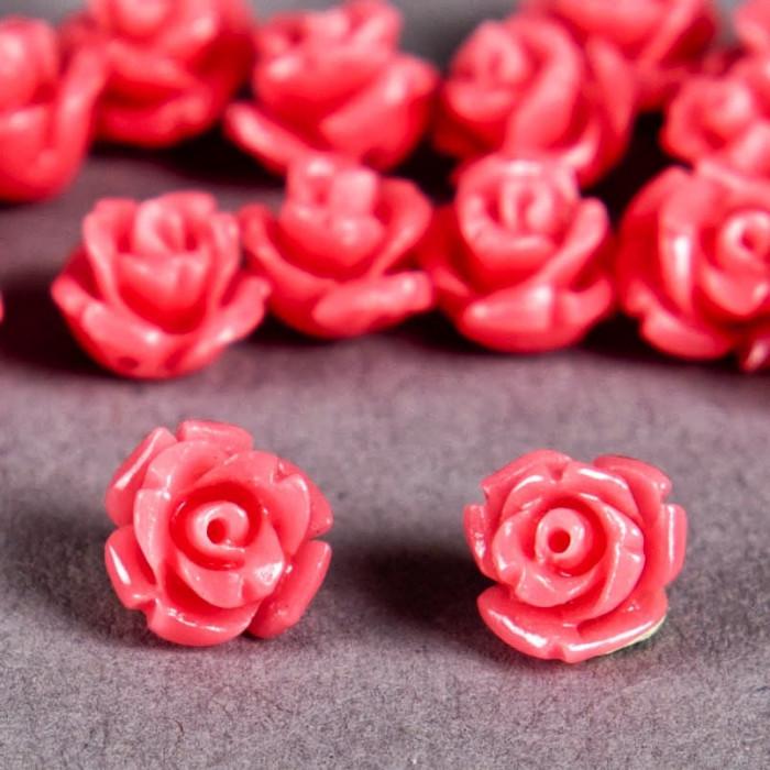 Fleur en poudre de nacre 07 mm rose x1
