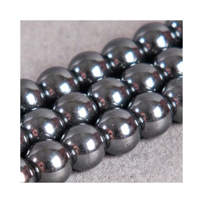 Perle hématite ronde 4mm x110