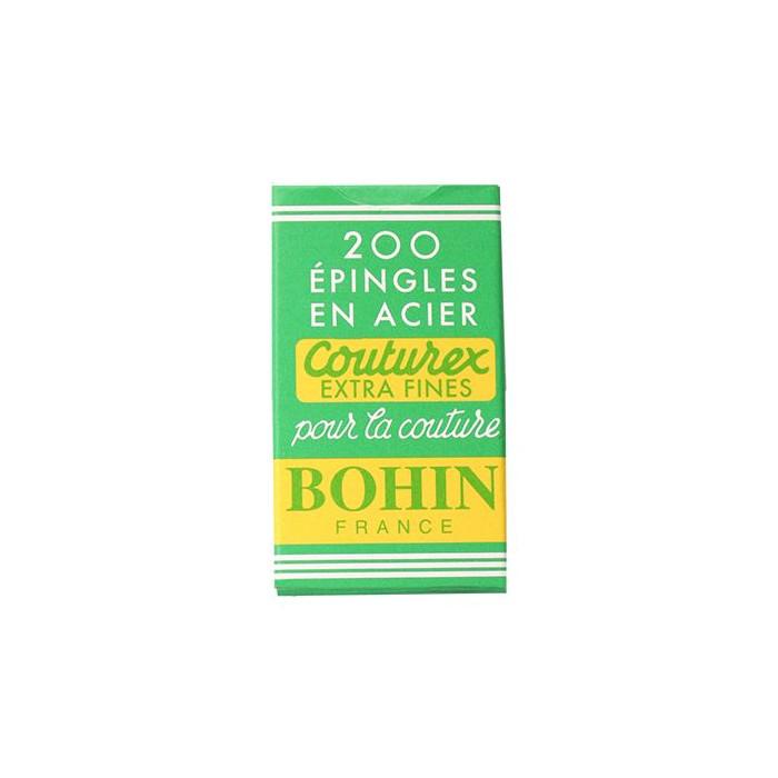 Epingles en acier extra fines couturex Bohin