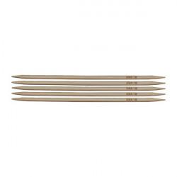 Aiguilles double pointes bambou 20 cm