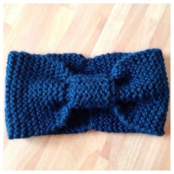 Atelier de la création - Tuto tricot bandeau papillon en Drops Andes 9463ad59c18
