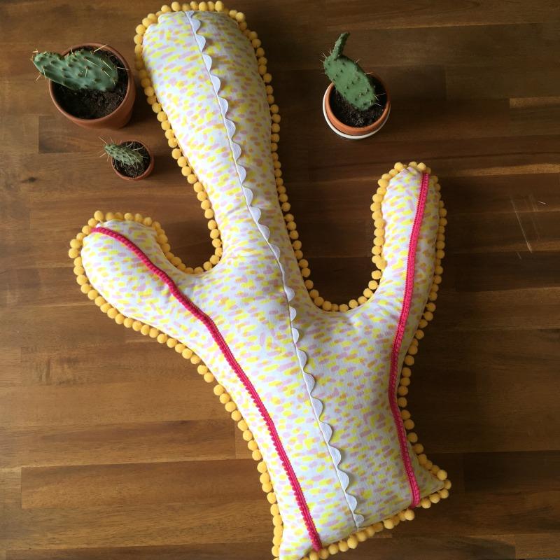 coussin cactus tuto couture tuto atelier de la creation