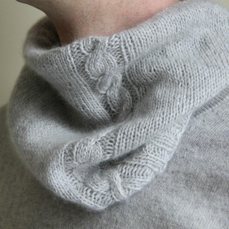 078af73ec565 kit tricot snood dear James - cachemire Mlle Sophie by l atelier de la  création