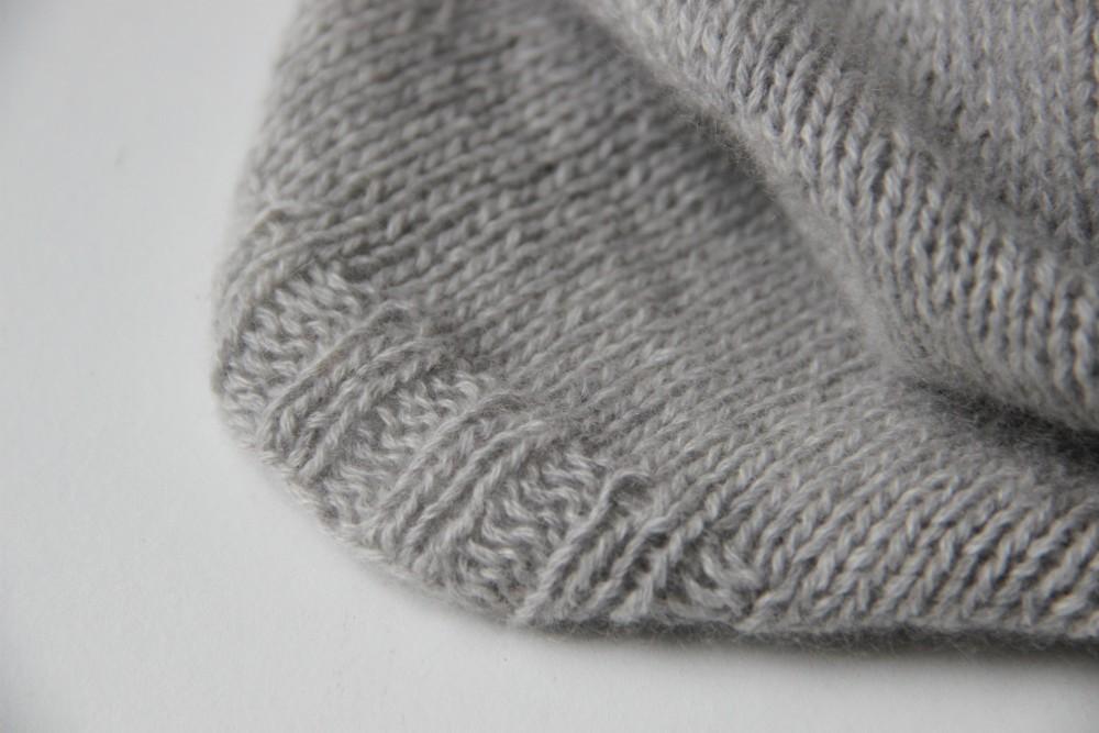 kit tricot snood dear James - modèle cachemire Atelier de la création