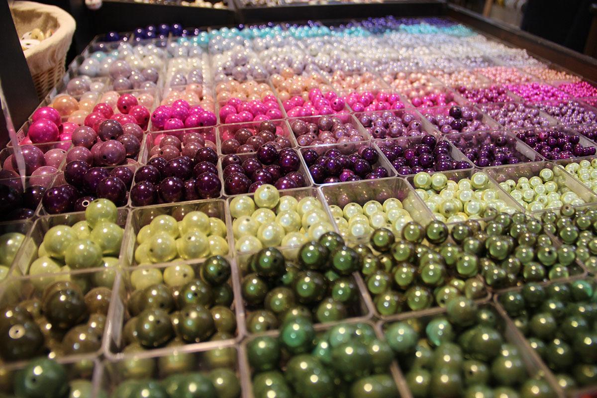 Perles magiques de la perlerie Atelier de la création