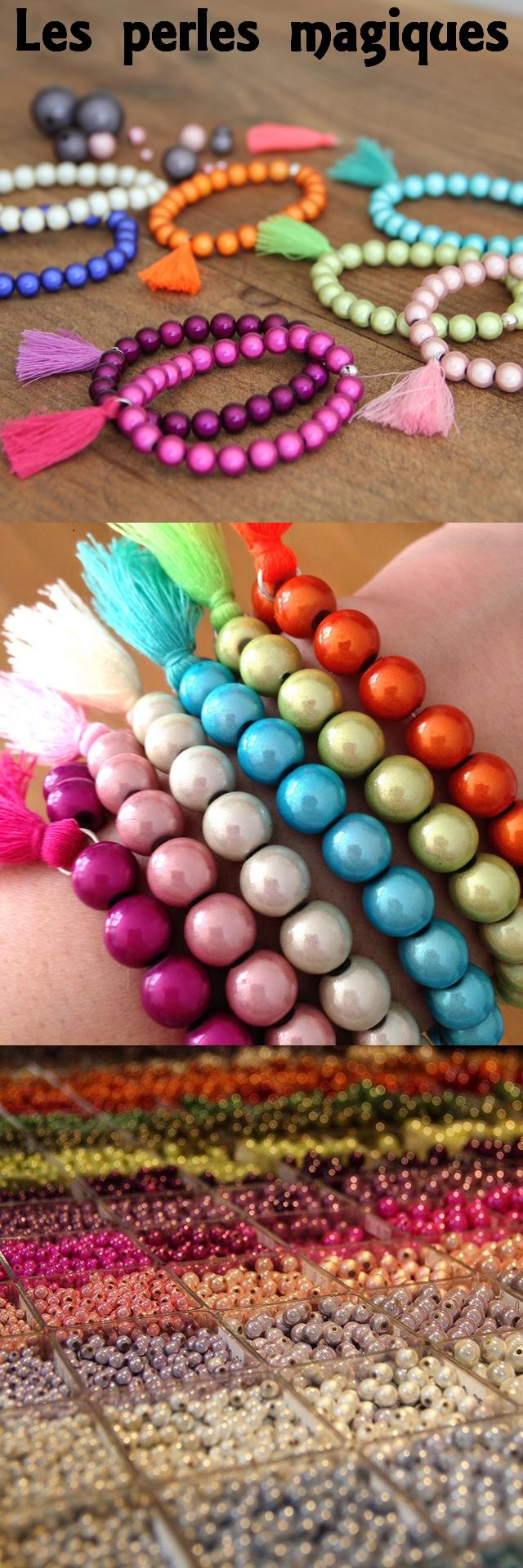 Bijoux en perles magiques - Perlerie Atelier de la création