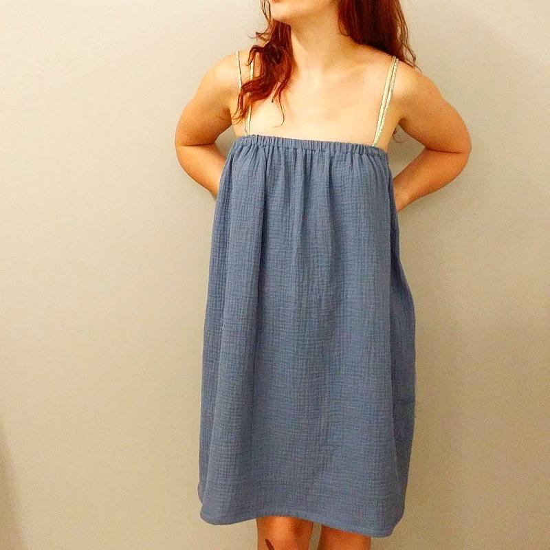 tuto robe en double gaze couture Atelier de la création