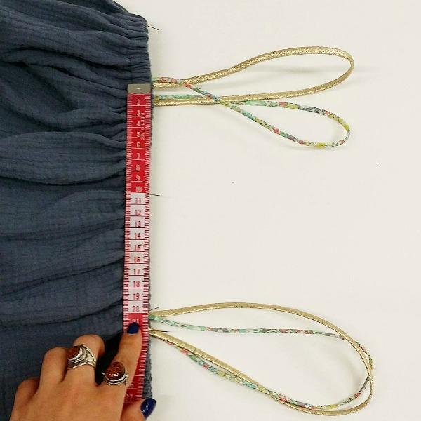 tuto robe en double gaze couture - merceries Atelier de la creation