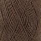 601 brun foncé uni colour