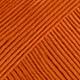 orange foncé uni colour 49