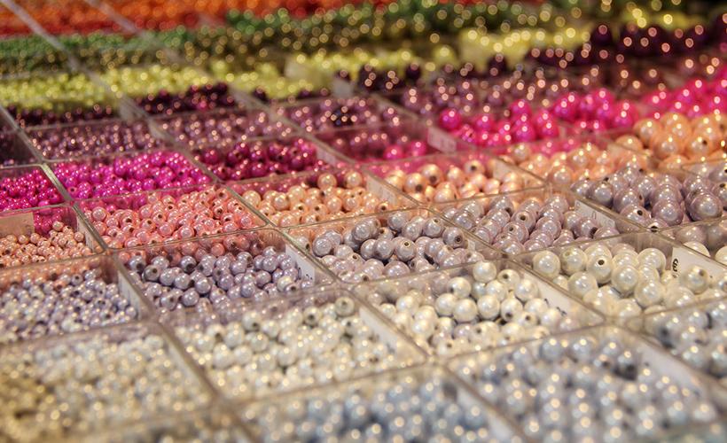 Les perles magiques : des bijoux éclatants !