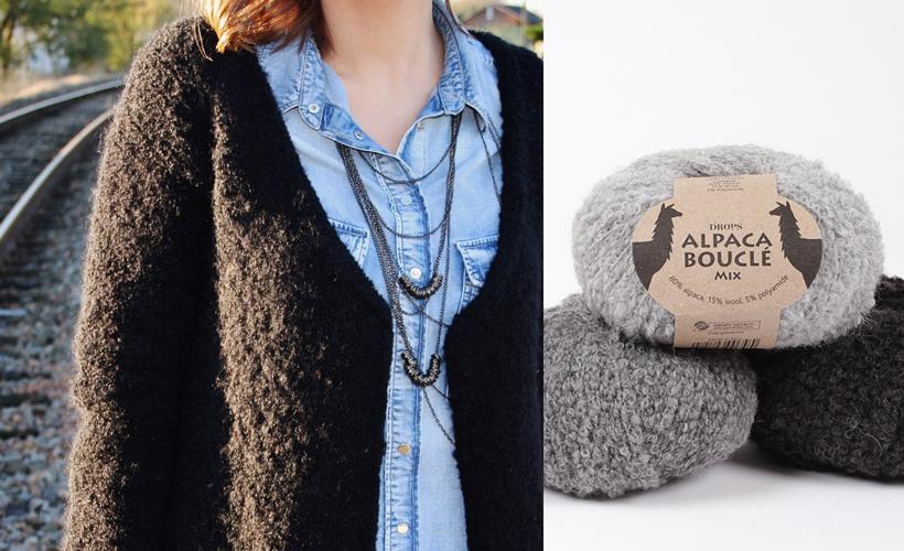 Modèles de tricot avec Drops : hiver