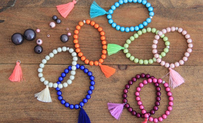 Tuto jolis bracelets en perles magiques