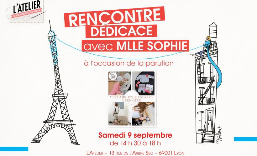 Mlle Sophie à Lyon et Atelier couture avec Géraldine